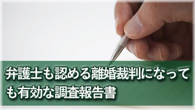 探偵岐阜 浮気調査岐阜 離婚裁判に有効な報告書報告書サンプル
